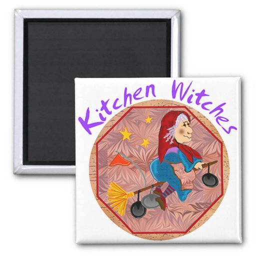 Kitchen Witch Magnets