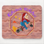 Kitchen Witch Mousepad