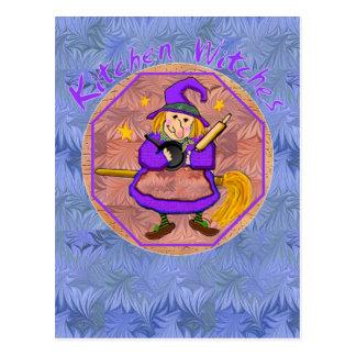 Kitchen Witch Postcards