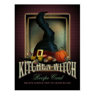 Kitchen Witch Recipe Card