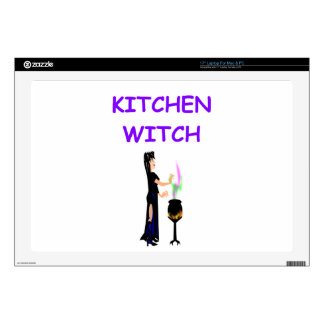 """kitchen witch skins for 17"""" laptops"""