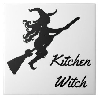 Kitchen Witch Tile