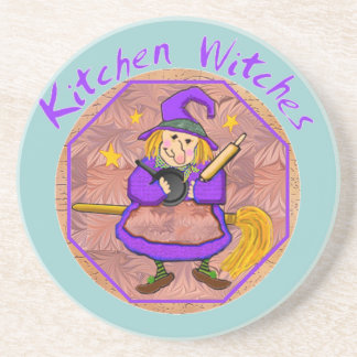 Kitchen Witches Coasters