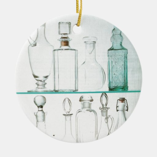 Kitchenalia, glassware, Bottles and decanters Christmas Ornaments