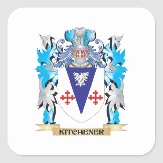 Kitchener Coat of Arms - Family Crest Stickers