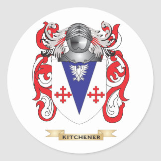 Kitchener Coat of Arms (Family Crest) Stickers