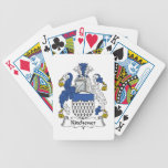 Kitchener Family Crest Bicycle Poker Deck