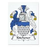 Kitchener Family Crest Invite