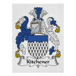 Kitchener Family Crest Print