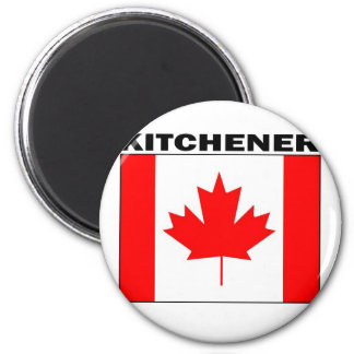 Kitchener, Ontario 2 Inch Round Magnet
