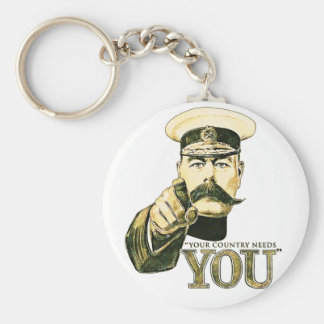 Kitchener Your Country Needs You Keychains