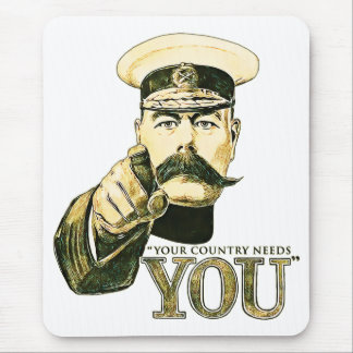 Kitchener Your Country Needs You Mouse Pad