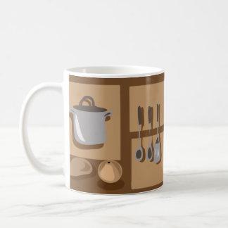 kitchenware and food classic white coffee mug