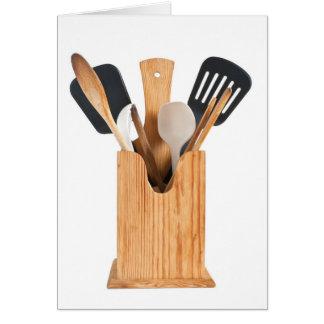 Kitchenware utensils 2 card