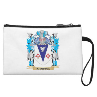 Kitching Coat of Arms - Family Crest Wristlet Clutch
