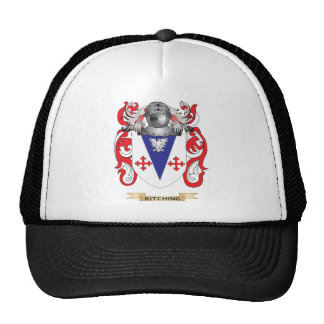 Kitching Coat of Arms (Family Crest) Mesh Hats
