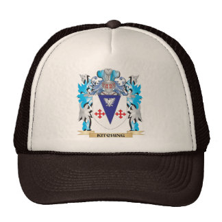 Kitching Coat of Arms - Family Crest Trucker Hats