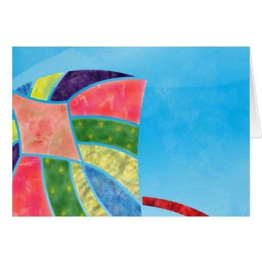Kite1 Tarjeta De Felicitación