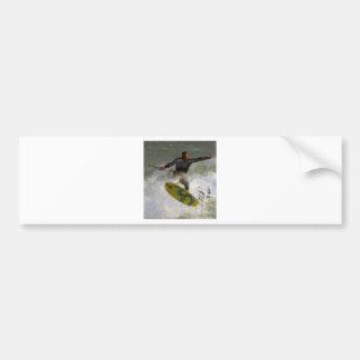 Kite Boarder Bumper Sticker