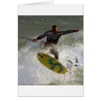 Kite Boarder Card