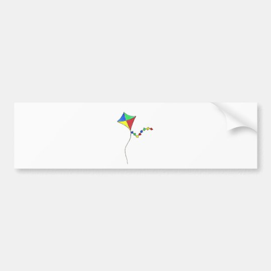 Kite Bumper Sticker