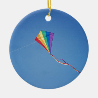 Kite Ceramic Ornament