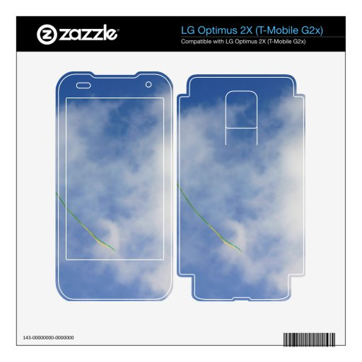 Kite Decal For LG Optimus 2X