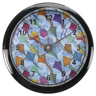 Kite Festival Aquarium Clocks