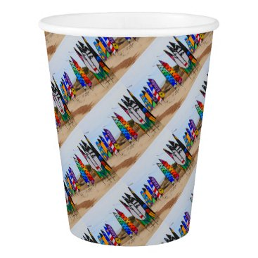 Kite festival flags paper cup