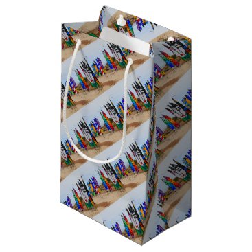 Kite festival flags small gift bag