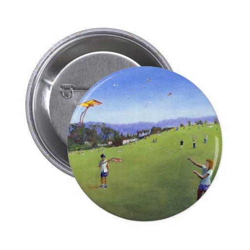 Kite Festival Pinback Buttons