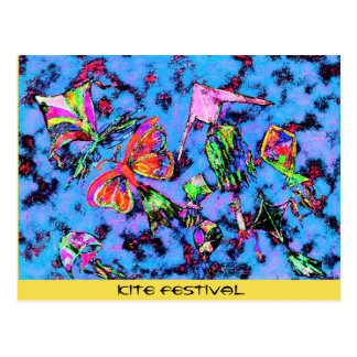 Kite Festival Postcard