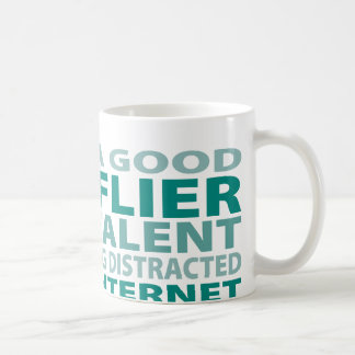 Kite Flier 3% Talent Classic White Coffee Mug