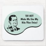Kite Flier Voice Mouse Pad