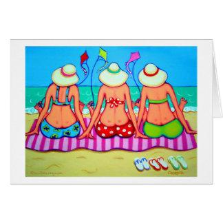 Kite Flying 101 - Women and Kites Card
