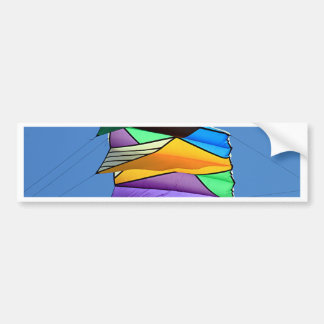 Kite flying 1 bumper sticker