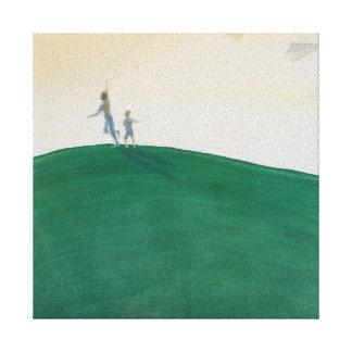 Kite Flying 2000 Canvas Print