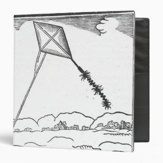 Kite Flying 3 Ring Binder
