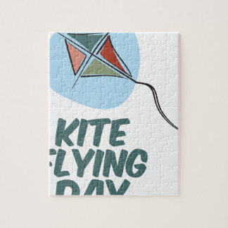 Kite Flying Day - 8th February Jigsaw Puzzle