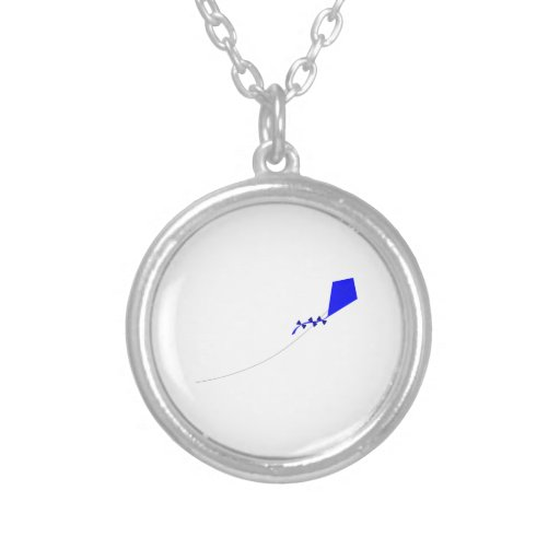Kite Flying Personalized Necklace