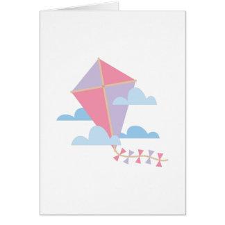 Kite in Clouds Card