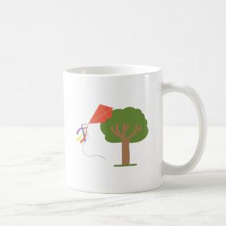 Kite In Tree Coffee Mug