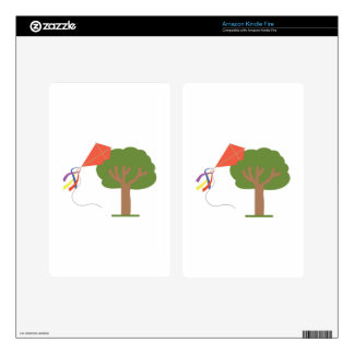 Kite In Tree Kindle Fire Decal