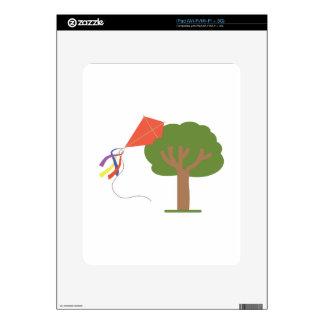 Kite In Tree Skins For iPad
