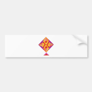 Kite.jpg Car Bumper Sticker