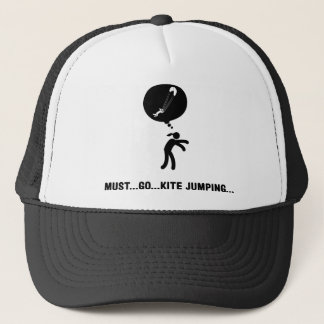 Kite Jumping Trucker Hat