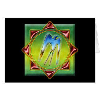 Kite Mandala Card