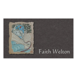 Kite & Mr. North Wind Double-Sided Standard Business Cards (Pack Of 100)