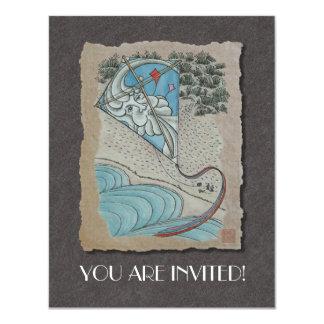 Kite & Mr. North Wind Card