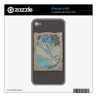 Kite & Mr. North Wind iPhone 4 Skins